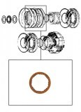FRICTION PLATE <br>  C2 & Direct Clutch