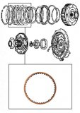 FRICTION  PLATE <br>  Reverse Input Clutch