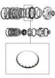 DIAPHRAGM SPRING <br> Reverse Input Clutch <br> 1989-up