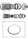 STEEL  PLATE <br> Reverse Input Clutch <br> 1986-1993