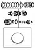 STEEL PLATE <br> Forward Clutch