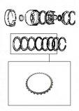 STEEL PLATE / REVERSE CLUTCH 126x1,80x30T