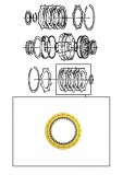 FRICTION PLATE <br> Fourth Clutch
