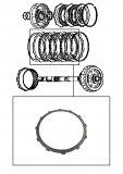STEEL PLATE / REVERSE BRAKE 131x1,90x12T
