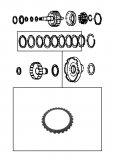STEEL PLATE / HIGH CLUTCH 92x2,00x28T