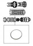 STEEL PLATE /  FORWARD CLUTCH 155x2,00x36T