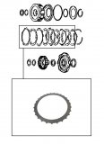 STEEL PLATE / HIGH CLUTCH 112x3,00x27T
