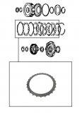 STEEL PLATE / HIGH CLUTCH 112x2,00x27T