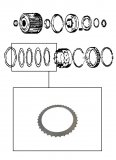 STEEL PLATE / INTERMEDIATE & 2ND CLUTCH