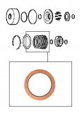 FRICTION PLATE <br> SMOOTH <br> Forward Clutch