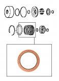 FRICTION / FORWARD CLUTCH SMOOTH 150x2,00x42T