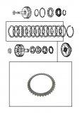 STEEL PLATE / FORWARD CLUTCH 114x1,80x40T