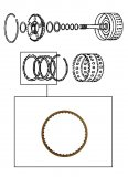 FRICTION PLATE <br> Input Clutch