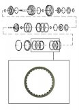 FRICTION PLATE <br> B Clutch