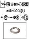 THRUST WASHER <br> Drum 2nd-3rd <br> Steel