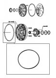 OUTER O-RING <br> Pump Stator