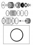 FRICTION PLATE <br>  Reverse Clutch