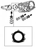 GASKET <br> Extension to Transfer Case