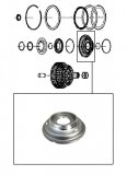 B CLUTCH PISTON / FITS CODES: 0171 020 004,008,009