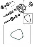 GASKET <br> ZF Paper <br> Transmission to Transfer Case