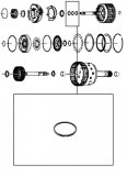SEALING RING <br> Input Shaft <br> E Clutch
