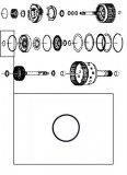 INNER O-RING <br> E Clutch Piston