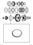 STEEL PLATE / 4-5-6 CLUTCH 96x1,73x36T