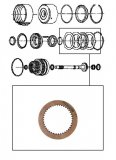 FRICTION / K1 CLUTCH 134x2,14x24T