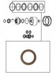 WAVED FRICTION / K2 CLUTCH 108x2,14x36T