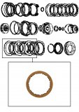 FRICTION PLATE / LOW & REVERSE CLUTCH 140x1,70x33T