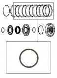 FRICTION PLATE <br> Overdrive Clutch