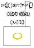 THRUST WASHER <br> Yelow <br> Stator Support