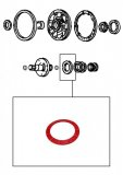 THRUST WASHER <br> Red <br> Stator Support