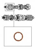 FRICTION PLATE <br> C2 & High & Reverse Clutch