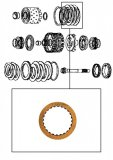 FRICTION PLATE <br> Direct Clutch