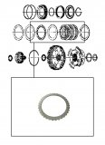 STEEL PLATE <br> 4-5-6 Clutch