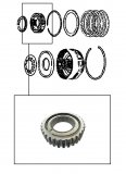 OVERRRUN SPRAG ASSEMBLY <br> Underdrive Low Clutch