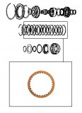 FRICTION  / LOW CLUTCH 145x2,00x30T >RL4F02A<