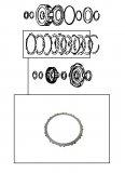 STEEL PLATE / HIGH CLUTCH 112x1,40x24T >RL4F02A<