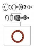 FRICTION / FORWARD CLUTCH RED 150x2,00x42T >TH400/4L80E<
