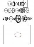 DAMPER CIRCLIP <br> 4-5-6 Clutch