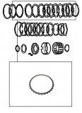 STEEL PLATE / FORWARD CLUTCH 126x1,80x32T >RE4F04A<