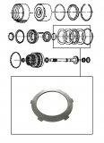 STEEL PLATE / K1 CLUTCH 90x3,00x6T