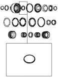 PISTON SEAL INNER / K1 & K2 & K3 & K4 & K5 & KR  CLUTCH