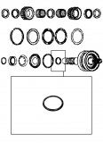 PISTON SEAL <br> Inner <br> K2 Clutch