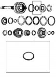 PISTON SEAL <br> Inner <br> K4 Clutch