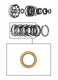FRICTION  PLATE / FIRST CLUTCH 110x2,00x38T