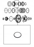INNER D-RING <br> 4-5-6 Clutch