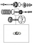 THRUST BEARING KIT / E CLUTCH
