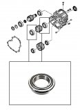 ROLLER BEARING <br> Pinion Gear